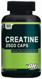 Optimum Nutrition, Creatine 2500 Caps (100капс)