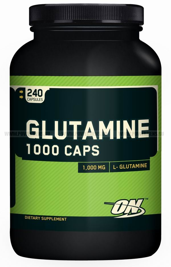 Купить Optimum Nutrition, Glutamine Caps1000mg (240 капс)