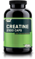 Optimum Nutrition, Creatine 2500 Caps (200капс)