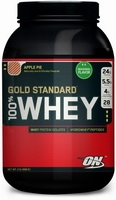 Optimum Nutrition, 100% Whey Protein Gold Standard (909гр)(срок годности до 09/17)