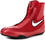 Боксерки Nike MACHOMAI MID Boxing Shoes (красный 611)