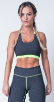 Labellamafia Fitness Strappy Lime Top, Топ женский арт.FBL11545