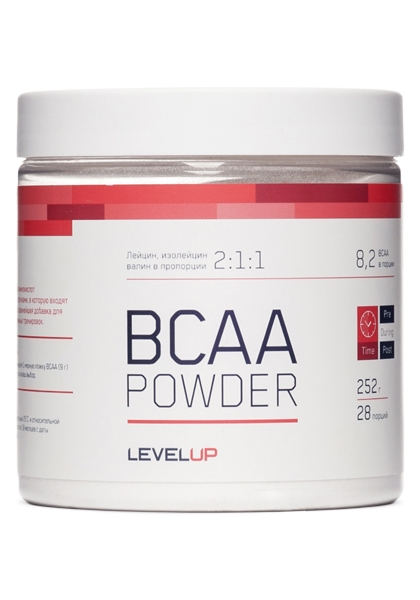 Купить Level Up, AminoBlast BCAA Powder (252г)