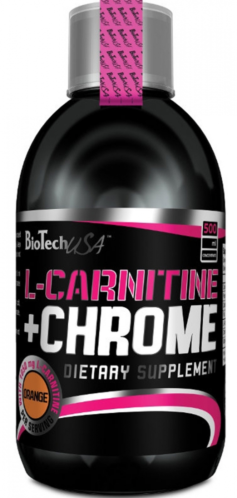 Купить BioTech USA, L-Carnitine 35000 + Chrome (500 мл)