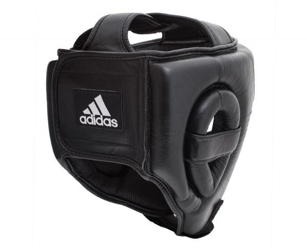 Купить в Москве Adidas Training Head Guard, Шлем для бокса, арт.ADIBHG031 (черный)
