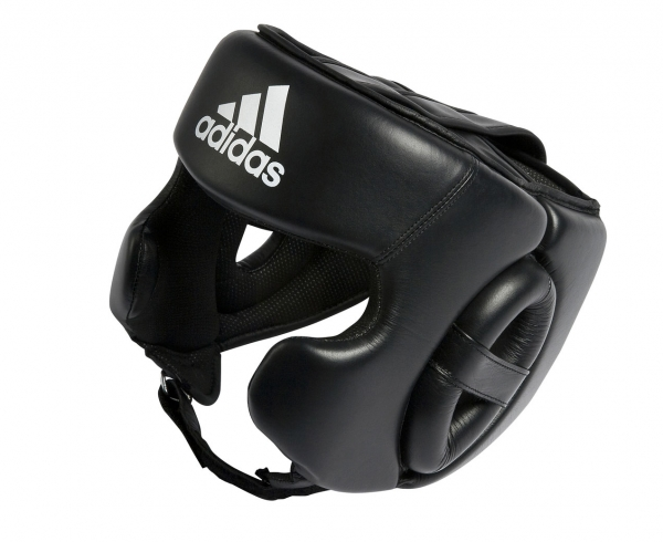 Купить Adidas Training Head Guard, Шлем для бокса, арт.ADIBHG031 (черный)