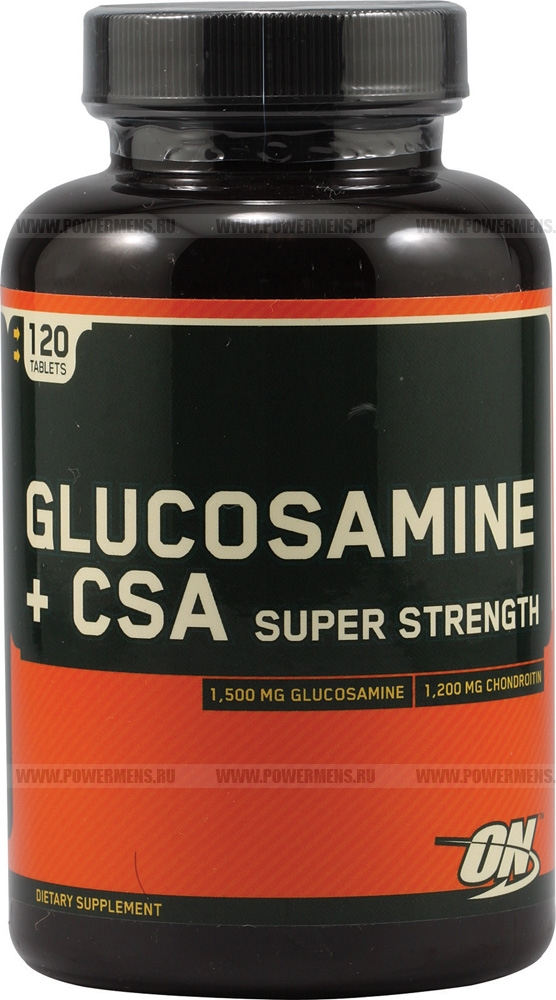 Купить Optimum Nutrition, Glucosamine + CSA Super Strength (120 таб)